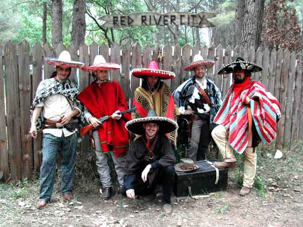 GN Western Red River City: Los mexicanos !